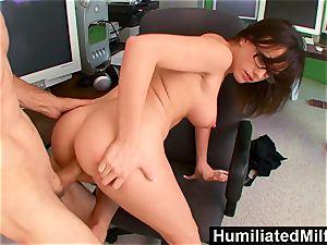 HumiliatedMilfs Jennifer milky leaned Over