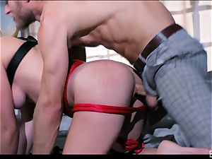Lily Labeau and her fellow get into domination have fun