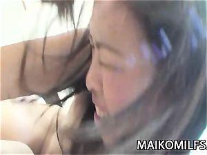 Tomomi Kitano - manstick luving JAV milf poking