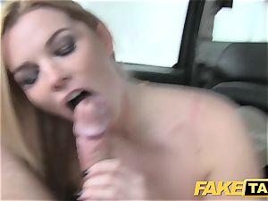 faux cab humungous natural tits on blondie model