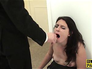 british slave hoe Sophie Garcia riding male domination