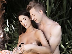 youthful inborn and Wicked Sn two August Ames Outdoor pummel