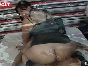 LETSDOEIT - bodacious Latina smashed stiff By Her enjoy