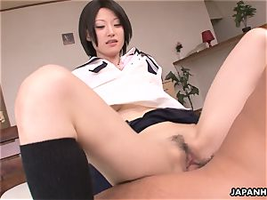 super-cute and adorable chinese biotch getting smashed real stiff