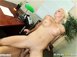 stellar adult assistant Rhylee Richards seduces her married boss in the office