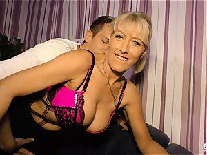 SexTapeGermany - German lovemaking tape with blond milf