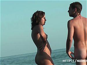 An great spy web cam bare beach spycam video