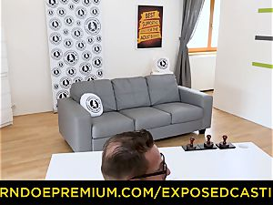 unveiled audition - young kitten snatch pounded on audition
