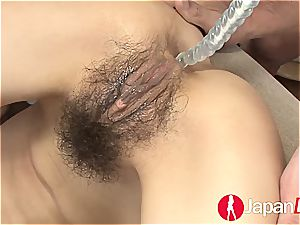 It takes numerous magic wands to get asian fuckbox wet