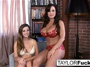 Taylor Vixen's very first time with Lisa Ann