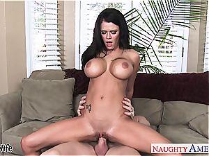 big-titted wife Peta Jensen take manhood