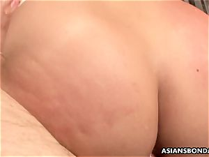 chinese red-haired is bandaged and group-fucked