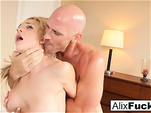 steamy 3-way with Alix, Kissa, and Johnny
