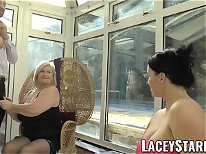 LACEYSTARR - Pascal pounding Lacey Starr and her mate