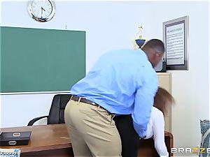 ebony salami office treat for Sara Jay