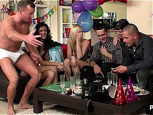 new Year's Eve fuck-fest party vignette 2