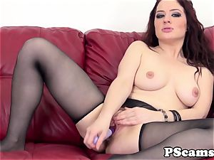 red-haired web cam stunner Jessica Ryan pussyfucked