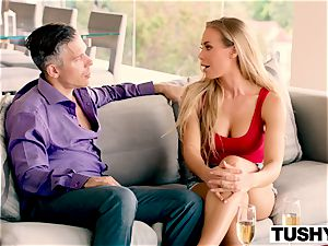 TUSHY Nicole Aniston first-ever buttfuck, enormous gapes!