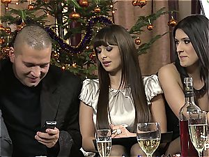 The intercourse Game before Christmas scene 1