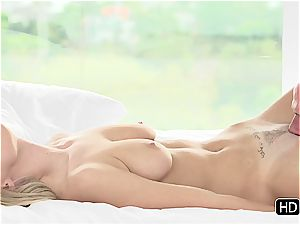 Natalia Starr having romantic hookup with Johnny Sins