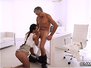 nubile micro-skirt hardcore ultimately she s got her boss dick