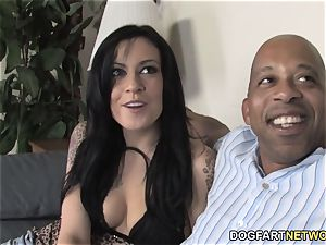 Vanessa wild tears up bbc In Front Of Her cuckold beau