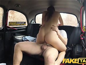 faux taxi red-hot vengeance taxi plumb for stunning sexy minx
