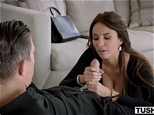 TUSHY sumptuous French dame loves assfuck