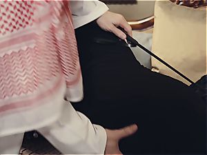 Arab wife punished by kinky spouse