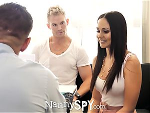 NannySpy father tears up Ariana Marie after caught with son-in-law