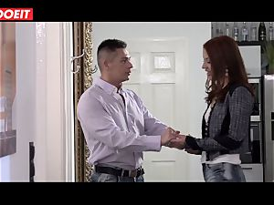 red-haired humped gonzo by her sugar father in new palace