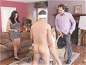 gang sex and Hangman with cute couples 2