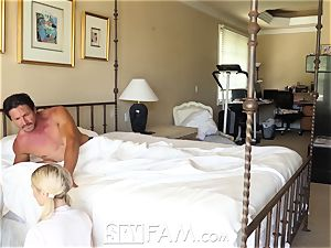SpyFam Step daughter-in-law Piper Perri shag and creampie