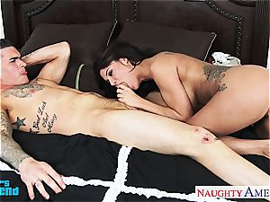 bootylicious Peta Jensen hops on for a mind-blowing ride