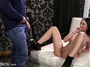 gigantic globes Step-Daughter Cannot control her parent passion!