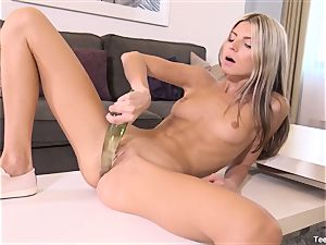 Finger humping Gina Gerson With toy