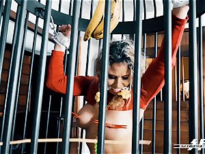 special feet energy - Lesdom torments German feet slaves