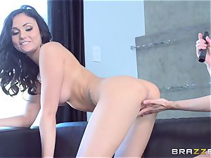 dual faux-cock dipping withAriana Marie and Mckenzie Lee