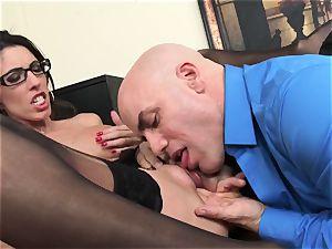 Office hottie Dava Foxx Blows Her manager to Keep Her Job