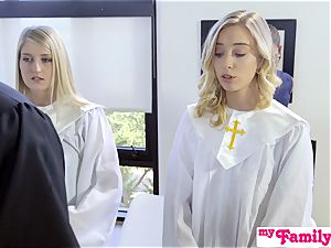 Church stunner pummels step-brother Behind Dads Back! S1:E4