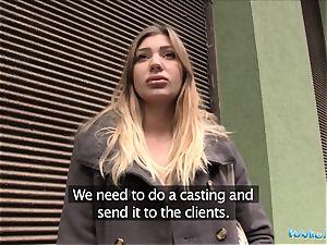 Public Agent hot model prospect Vyvan Hill torn up