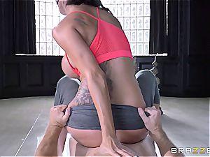 Peta Jensen finds a new exercise technique