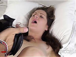 cute first timer luvs her porno debut cum facial