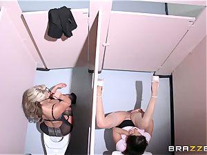 Phoenix Marie dominates naught worker Abella Danger