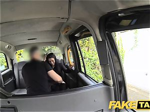 fake taxi black-haired club dancer works her magic for ride