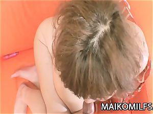 Kumiko Kaga - obese JAV Mature pounded And Creamed