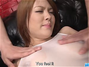 Subtitles - chinese sweetie Rei gets pipe in her lovely