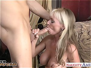 mummy Alison needs it truly firm