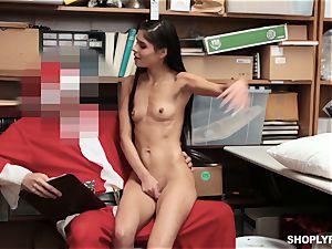 Katya Rodriguez rails on security santas boner