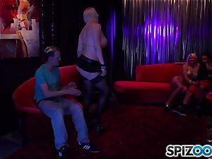 Laela Pryce and Alicia glaze club penetrating